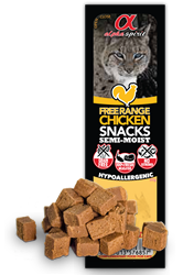 Alpha Spirit Cat Free Range Chicken Snack