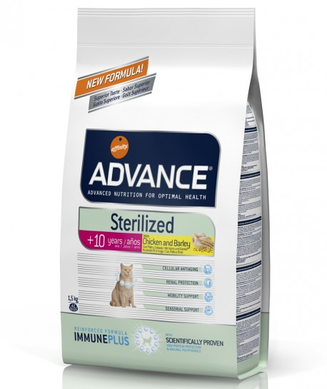Advance Cat Sterilised +10 Chicken and Barley