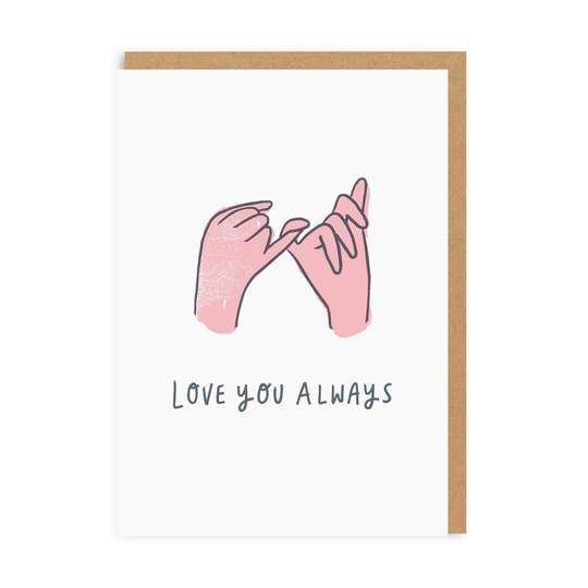 GREETING CARD LOVE YOU ALWAYS OHH DEER